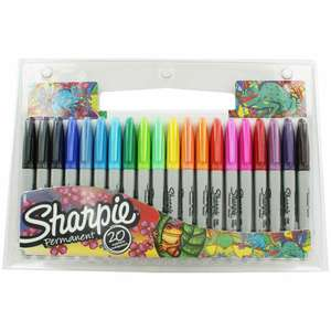 Back to school discounts @ Ryman e.g Sharpie Fine Permanent Markers Pack of 20 Assorted - £7.79  (Free Click & Collect)