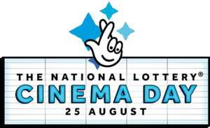 National Lottery : Free Movie Tickets with Lotto ticket purchase  for the Lotto Double Prize Event draw on 24th August