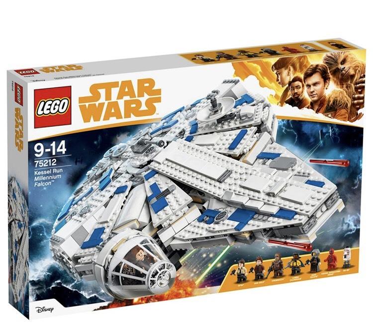 LEGO 'Star Wars™ - Millennium Falcon™' set - 75212 4.5 (34) Now £105.00 (Save £45.00) Was £150.00 at Debenhams
