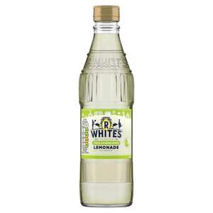 R Whites Pear & Elderflower Lemonade glass bottle 330ml 39p @ Poundstretcher