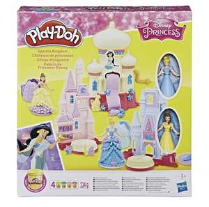Play-Doh Disney Princess sparkle kingdom playset with figures £11.50 free delivery with code at Debenhams