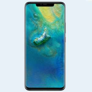 Mate 20 Pro on O2 10gb data £24 per month £50 up front at Mobiles.co.uk total cost £626