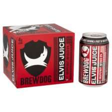 Brewdog Elvis Juice 4x330ml - £4.50 Morrisons Anniesland Glasgow