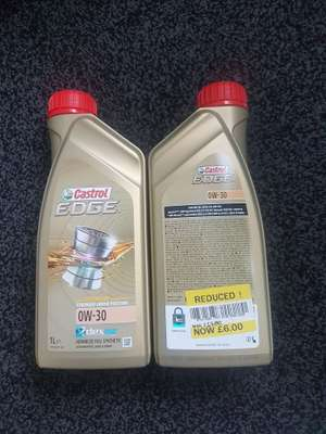 CASTROL Edge Oil Reduced TO £6 instore @ Tesco