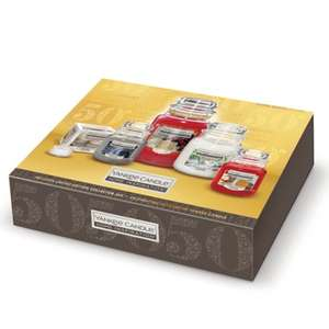 Yankee Candle 50th Anniversary Home Inspirations Gift Set (was £40) Now £20 @ Tesco