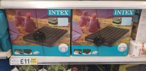 Intex Full Downy Airbed with Pump - £11 @ Tesco (in store)