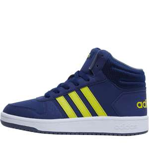 adidas Kids Hoops 2.0 Mid Trainers £22.98 delivered @ MandM Direct