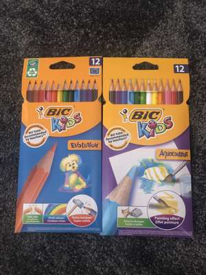 Bic Colouring Pencils 10p each in Wilko instore