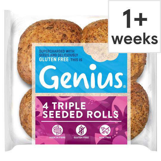Genius bread rolls half price - £1 at Tesco instore