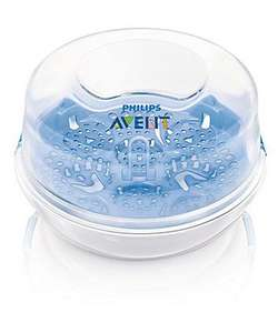 Free Philips Avent Microwave Bottle Steriliser with £20 spend - BabyWishlist at Amazon