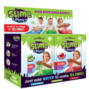 24 x Slime Play Sachets (Party Favours?) £5.60 / £8.59 delivered with code @ PoundToy