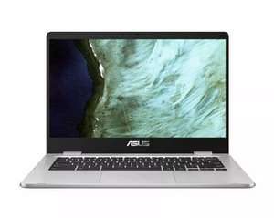 "*Refurb* ASUS Chromebook C423NA 14"" HD Intel Celeron Dual Core, 4GB RAM, 32GB £159.99 with code @ Laptop Outlet eBay"