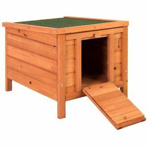 Pet Rabbit House Wooden Hutch £21.56 delivered with code @ homediscountltd ebay