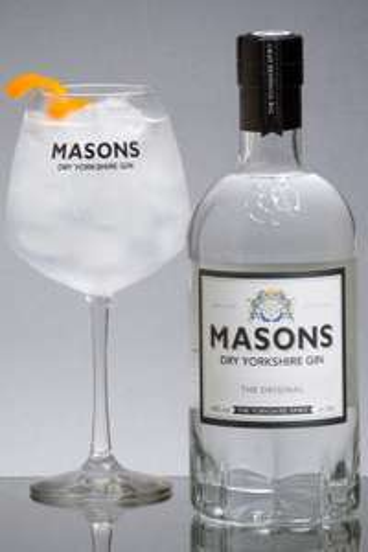 Masons Dry Yorkshire Gin, 70 cl - £28 @ Amazon