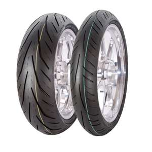 Avon 3d XM Motorbike tyres, 180/55/17 and 120/70/17 pair deal + Others £127.99 with code - eBay / m_and_p