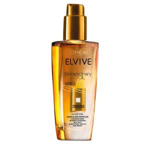 L'Oreal Elvive Extraordinary Oil All Hair Types 100ml NOW £3 add-on item at Amazon