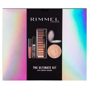 Rimmel The Ultimate Kit Gift Set with Compact Mirror now £12 (Prime) + £4.49 (non Prime) at Amazon