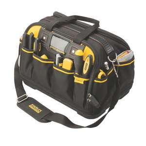 Stanley toolbag at Screwfix for £19.98 (free C&C)