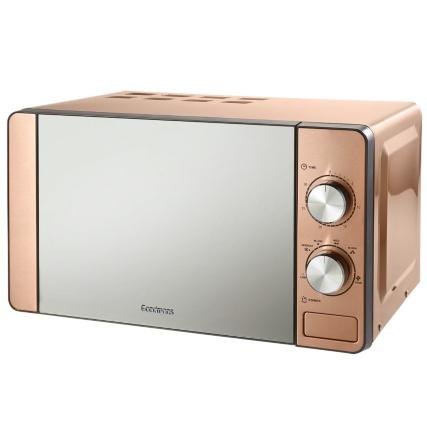 Goodmans Copper Microwave 20L - £49 @ B&M (In-Store)
