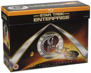 Star Trek: Enterprise: The Full Journey Blu-ray at Amazon for £24.99