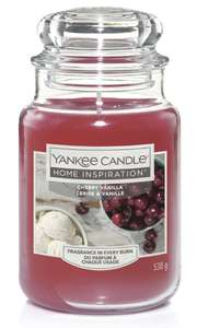 Large Yankee Candles (14 different fragrances) £9.00 and free C&C (10% code attached) at Robert Dyas