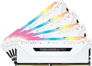 Corsair Vengeance RGB PRO 32 GB (4 x 8 GB) DDR4 3200 MHz C16 XMP 2.0 @ Amazon £185.60