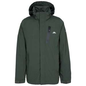 Trespass Men's Edisan Waterproof Rain/Outdoor Jacket with Removable Hood - Size S £7.78 delivered with prime / £12.27 non-prime @ Amazon