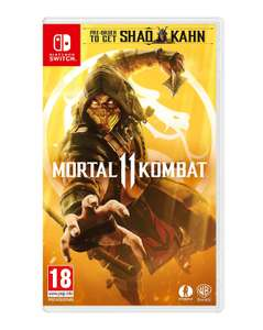 Mortal Kombat 11(XI) (Nintendo Switch) £26.99 @ Amazon UK