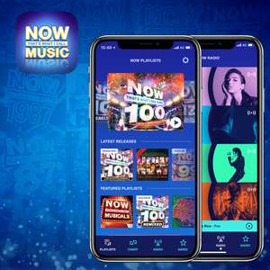 6 months of Now Music Streaming App for £6 available on Android / iOS @ Now Music