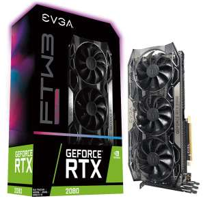 EVGA GeForce RTX 2080 FTW3 Ultra Gaming at Amazon £650.65