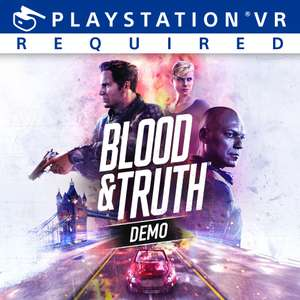 Blood & Truth PSVR - free playable demo @ Playstation