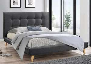 Flair Furnishings Jules Bed Frame (Double or King) £99.99 @ Bed Kingdom