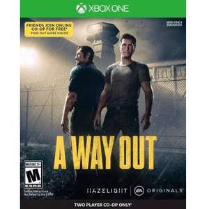 A Way Out (Xbox one) £12.49 with gold @ Microsoft store