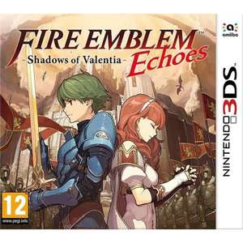 Fire Emblem Echoes: Shadows of Valentia (Nintendo 3DS) £15.70 (Prime) / £18.69 (Non Prime) Delivered @ Amazon