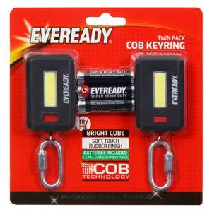 Eveready Lights with Carabiners 2pk - £1 @ B&M (In-Store)