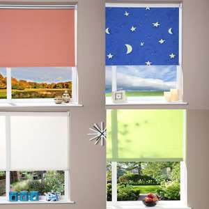 Cheap Roller Blinds from £6.98 delivered @ Brooklyn Trading - EG Blackout Roller Blind - Peach - 52 x 180cm £6.98 delivered - See OP