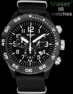 Traser H3 Officer Chronograph Pro  watch @ TkMaxx £199.99