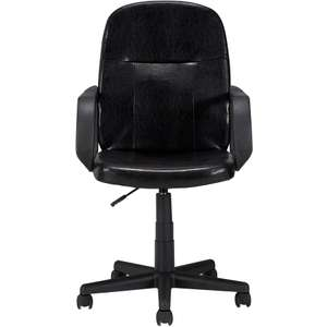 Executive Mid Back Gas Lift Office Chair £17.95 Delivered @ Asda