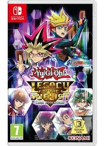 Yu-Gi-Oh! Legacy of the Duelist Link Evolution (Nintendo Switch) Pre-Order £27.84 @ Base.com