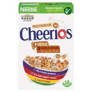 Better Than 1/2 price : 375g Nestle Cheerios Multigrain Cereal, Now £1.25 @ Morrisons