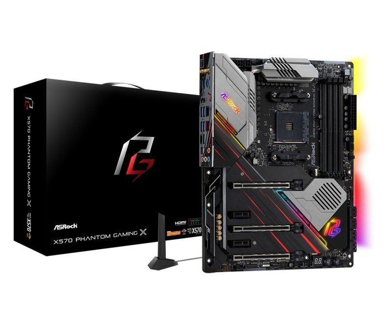 ASRock X570 Phantom Gaming 4 AM4 DDR4 ATX Motherboard £164.32 Delivered @ Ebuyer