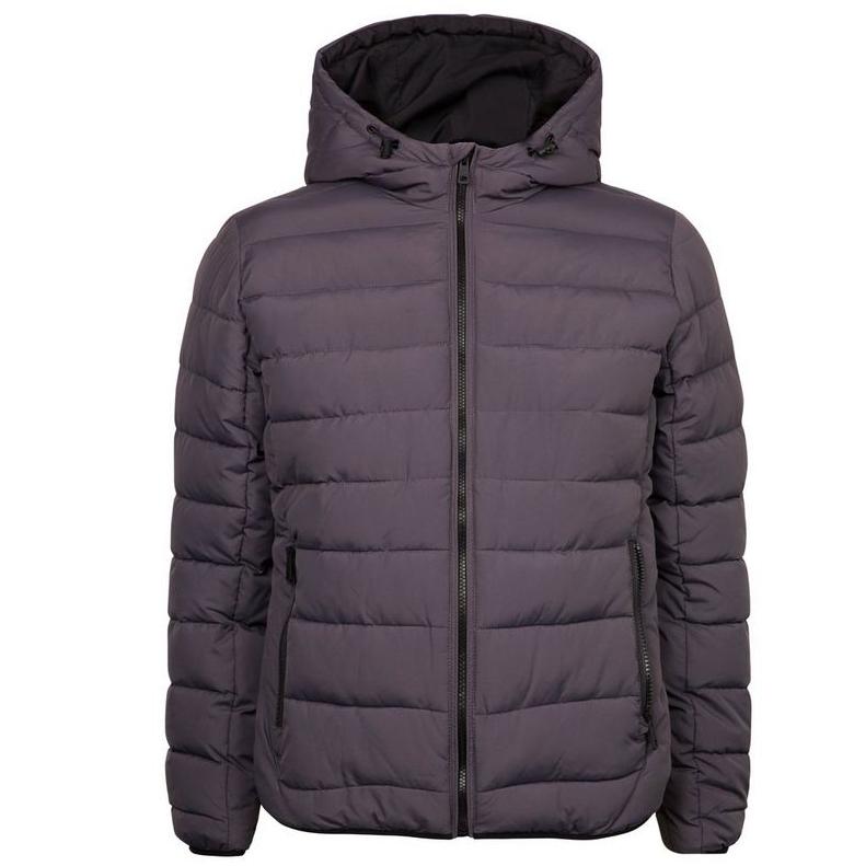 Dark Grey Hooded Puffer Coat £17.99 Delivered @ New Look