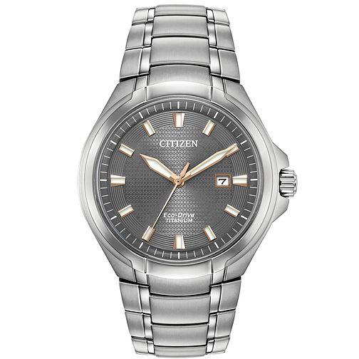 Citizen Eco-Drive Paradigm Men's Titanium Bracelet Sapphire Crystal Watch, £125 at H.Samuel-with code