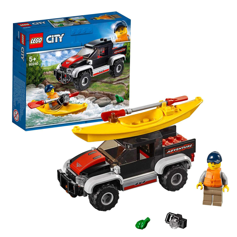 LEGO 60240 City Great Vehicles Kayak Adventure now £7.50 (Prime) + £4.49 (non Prime) at Amazon