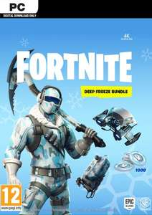 Fortnite Deep Freeze Bundle PC £14.99 @ CDKeys