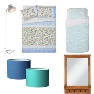 Home / Bedding Items Reduced @ Argos - EG - Drum Lightshade £3 / Wood Mirror with Hooks 90x62x10cm £30 - Free C&C - See OP for more