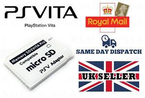 SD2VITA ADAPTER 5.0 FOR PS VITA 3.60 HENKAKU H-ENCORE PSVITA - NEW via 1st class post @  Ebay supersmashmedia - £4.20