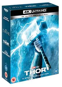 4K Blu-ray Thor Boxset Trilogy to preorder - £35.09 @ Zoom