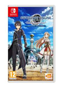 Sword Art Online: Hollow Realization Deluxe Edition (Nintendo Switch) £24.85 Delivered @ Simply Games