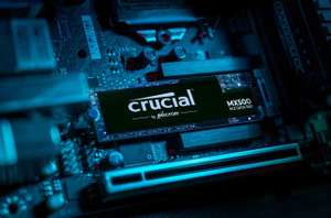 Crucial MX500 CT1000MX500SSD4 1 TB (3D NAND, SATA, M.2 Type 2280SS, Internal SSD) @ Amazon £101.37